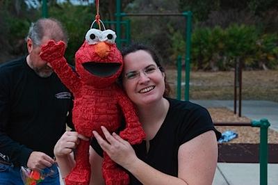 Me and Elmo...