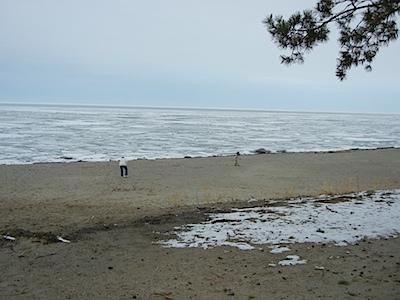 Brrrrrr! Lake Erie!